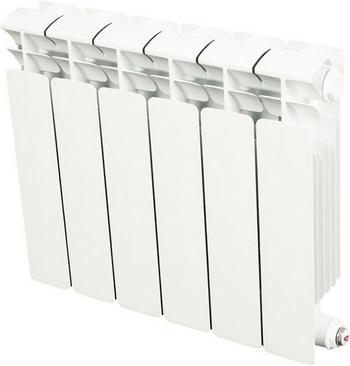 Водяной радиатор отопления RIFAR B 350 6 секц радиатор rifar base b 350 6