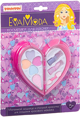 Набор детской декоративной косметики Bondibon Eva Moda ВВ1761