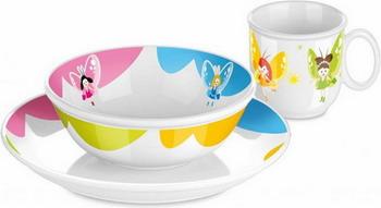 Набор посуды Tescoma BAMBINI феи 3шт 667950 цена
