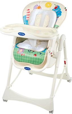 Стульчик для кормления Sweet Baby Candy Land 353 638 стульчики для кормления sweet baby land oval