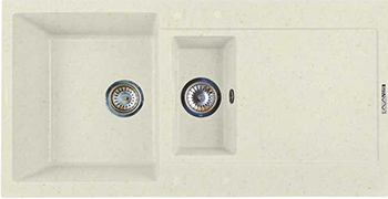 Кухонная мойка LAVA D.5 (VANILLA ваниль) maison jules new vanilla metallic sweater msrp $79 5 dbfl