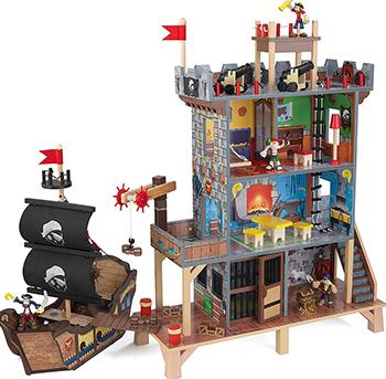 Набор KidKraft Пиратский форт 63284_KE игровые наборы kidkraft набор пиратский форт