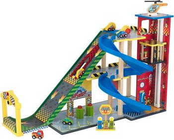 Автопарковка игрушечная KidKraft Гонки мега спуск 63267_KE suzanne barclay kara s gift