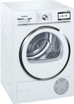 Сушильная машина Siemens WT 47 Y 782 OE встраиваемая стиральная машина siemens wk 14 d 541 oe