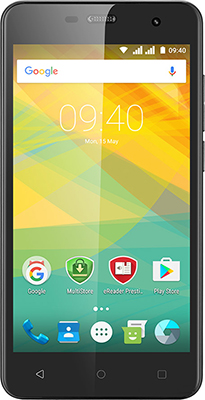 Мобильный телефон Prestigio Muze G3 Dual SIM Black смартфоны prestigio смартфон prestigio muze h3 psp3552duowine