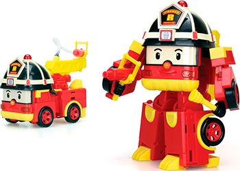 Трансформер Robocar Poli Рой мега robocar poli трансформер рой пожарный