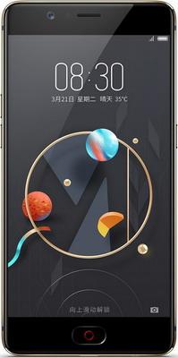 Мобильный телефон ZTE Nubia M2 Lite 32 Gb черный 2 alcatel m pop 5020 ot5020 5020d ot 5020 m pop 5020 ot5020 5020d ot 5020