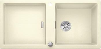 Кухонная мойка BLANCO ADON XL 6S SILGRANIT жасмин с кл.-авт. InFino 523609 кухонная мойка blanco 523662 delta ii silgranit жасмин с кл авт infino