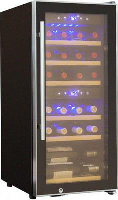 Винный шкаф Cold Vine C 35-KBF2 cold vine винный шкаф 110 л на 39 бутылок черный c50 kbf2 cold vine