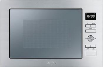 Встраиваемая микроволновая печь СВЧ Smeg FMI 025 X встраиваемая микроволновая печь свч maunfeld mbmo 20 2pgb