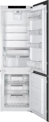Встраиваемый двухкамерный холодильник Smeg CD 7276 NLD2P