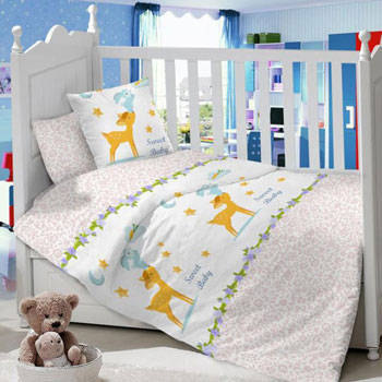 Комплект постельного белья Sweet Baby Renna Rosa kupi kolyasku комплект постельного белья lambministry kk вдохновение 7 предметов