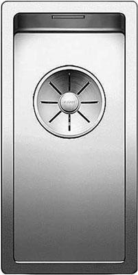 Кухонная мойка BLANCO CLARON 180-U нерж. сталь зеркальная полировка 521565 мойка claron 400 u 517213 blanco
