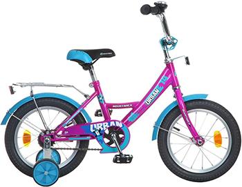 Велосипед Novatrack 14'' URBAN вишнёвый 143 URBAN.CH6 велосипед novatrack urban 12 2016 red 124urban rd6