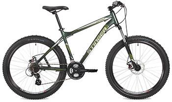 Велосипед Stinger 26 AHD.PYTHON.18 GN7 26'' Python 18'' зеленый велосипед навигатор patriot цвет зеленый navigator