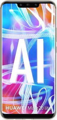 Смартфон Huawei Mate 20 Lite 4/64 Gb золотистый смартфон huawei mate 20 lite sne lx1 blue hisilicon kirin 710 2 2 64 gb 4 gb 6 3 2340x1080 dualsim 3g 4g bt android 8 1