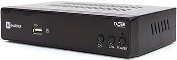 Цифровой телевизионный ресивер Harper HDT2-5050 цифровой телевизионный ресивер bbk smp 016 hdt2 темно серый
