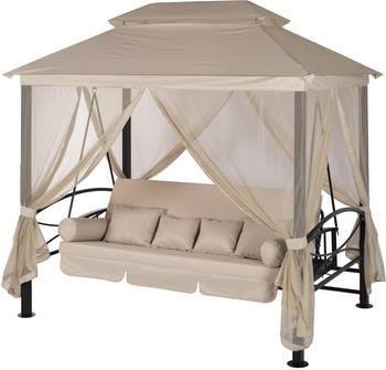Качели садовые Удачная мебель Пальмира бежевый A 31 BL.328 база для зонта 12 кг удачная мебель tjib r 060