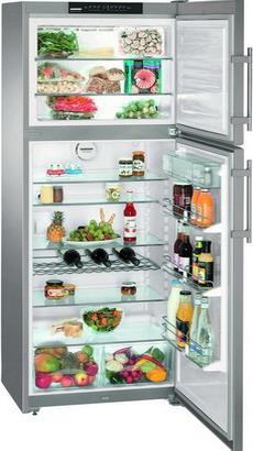 Фото Двухкамерный холодильник Liebherr. Купить с доставкой
