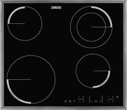 Встраиваемая электрическая варочная панель Zanussi ZEN 6641 XBA встраиваемая электрическая панель zanussi zem56740bb