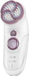 Щетка для пилинга BRAUN Silk-epil 7 901 in garden so naturally 57 малахит