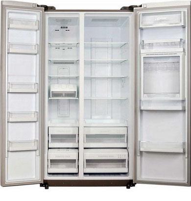 Холодильник Side by Side Kaiser KS 90210 G холодильник side by side samsung rs 552 nrua9m wt
