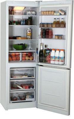 Двухкамерный холодильник Indesit DF 5180 W