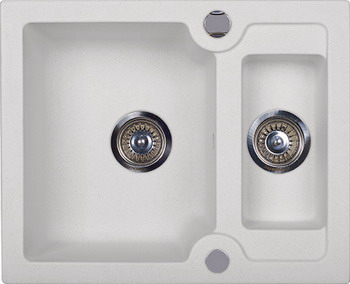 Кухонная мойка Kuppersberg MODENA 1 5B WHITE (7060) kuppersberg modena 1 5b1d black