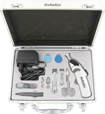 Маникюрный и педикюрный набор Babyliss 8480 E фотоэпилятор babyliss g 935 e