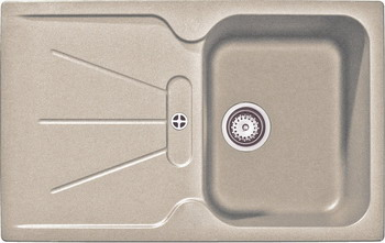 Кухонная мойка Teka CARA 45 B-TG Sandbeige кухонная вытяжка teka dvt 680 b black