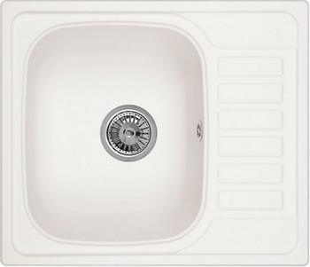 Кухонная мойка Weissgauff QUADRO 575 Eco Granit белый  weissgauff quadro 775k eco granit белый