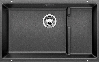 Кухонная мойка BLANCO SUBLINE 700-U Level SILGRANIT антрацит  blanco subline 320 u антрацит