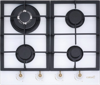Встраиваемая газовая варочная панель Cata RCI 631 WH газовая варочная панель cata xb 631 a