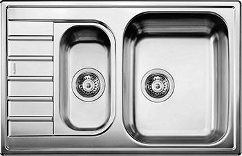 Кухонная мойка BLANCO LIVIT 6 S Compact нерж. сталь кухонная мойка blanco andano xl 6 s if compact