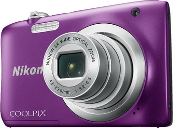 цена на Цифровой фотоаппарат Nikon COOLPIX A 100 пурпурный