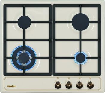 Фото Встраиваемая газовая варочная панель Simfer. Купить с доставкой