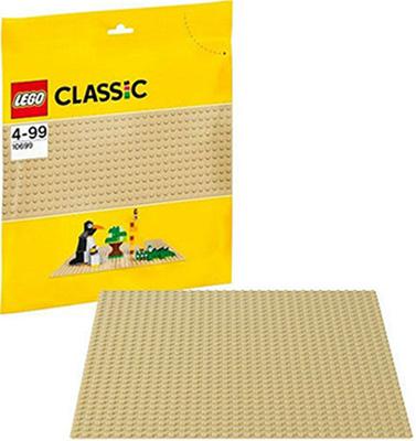Конструктор Lego CLASSIC Строительная пластина желтого цвета 10699 2304 конструктор lego duplo строительная пластина 38х38 1 элемент 2304