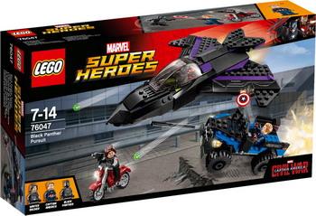 Конструктор Lego SUPER HEROES Преследование Чёрной пантеры 76047 heroes