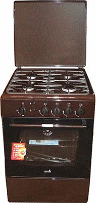 Газовая плита Cezaris ПГ 3100-10 (Ч) коричневый