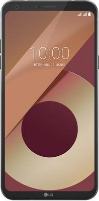 Мобильный телефон LG Q6 &#945 черный сплит система lg k07ehc