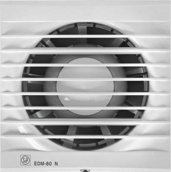 Купить Вытяжной вентилятор Soler amp Palau, EDM 80 NT (белый) 03-0103-210, Испания