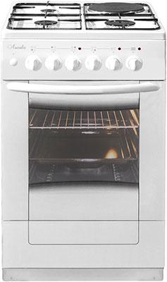 Комбинированная плита Лысьва ЭГ 1/3г01 М2С-2у белая со стеклянной крышкой щит мастер 2у