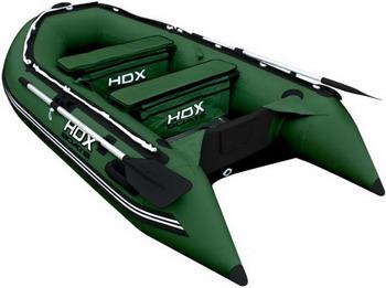 Надувная лодка HDX OXYGEN 300 AL зеленая 29734