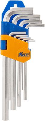 Набор ключей торцевых Kraft KT 700569 набор шестигранных угловых ключей sata 9 предметов metric пластиковый блистер 09107a