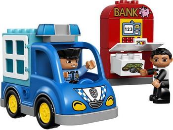 Конструктор Lego DUPLO Town: Полицейский патруль 10809