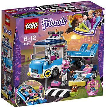 Конструктор Lego Грузовик техобслуживания 41348 lego друзей series 6 до 12 лет сердце лейк сити йогурт мороженое магазин 41320 lego детские строительные блоки игрушки