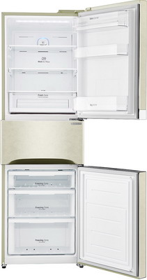 Многокамерный холодильник LG GC-B 303 SEHV холодильник с морозильной камерой lg gc b303smhv