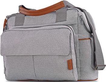 Сумка для коляски Inglesina DUAL BAG DERBY GREY AX 91 K0DBG сумка для коляски esspero lucia grey