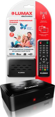 Цифровой телевизионный ресивер Lumax DV 1102 HD цена и фото