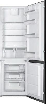 Встраиваемый двухкамерный холодильник Smeg C 7280 F2P1 smeg kmn 75